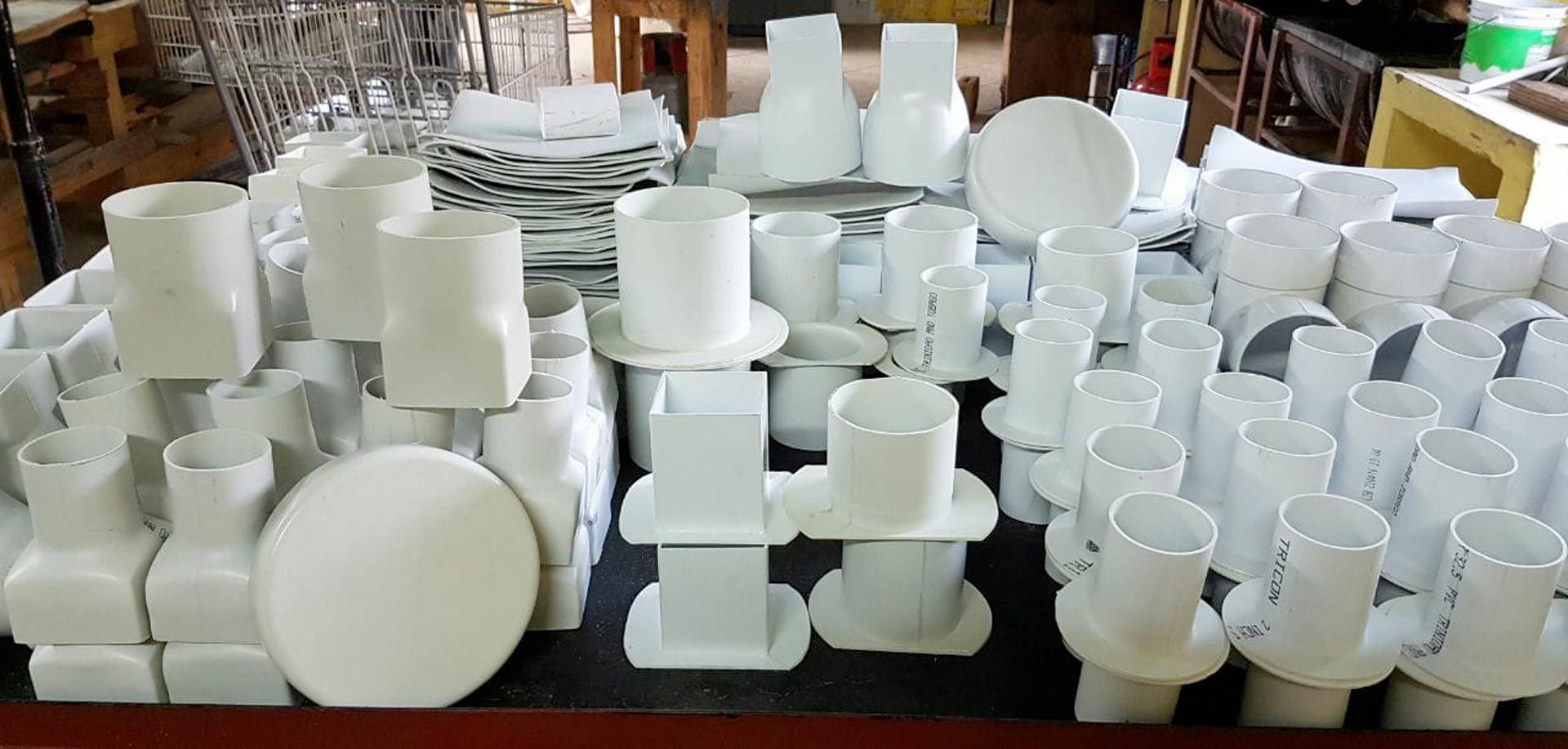 plastic fabrication products